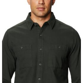 Mountain Hardwear Catalyst Edge Camiseta Manga Larga Hombre, black sage